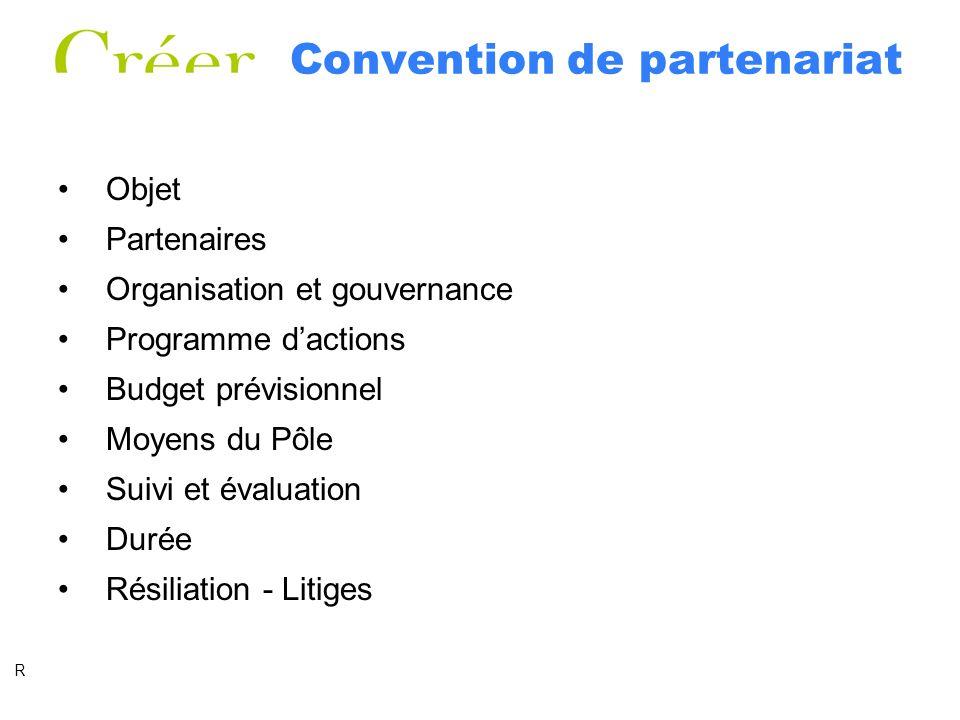 Convention de partenariat