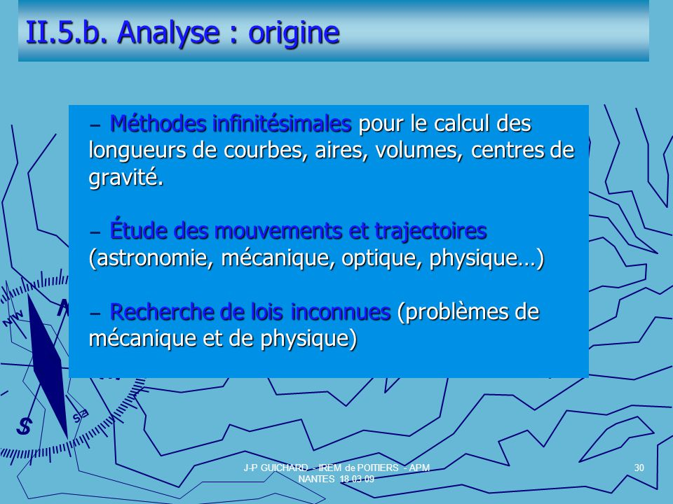 J-P GUICHARD - IREM de POITIERS - APM NANTES 18 03 09