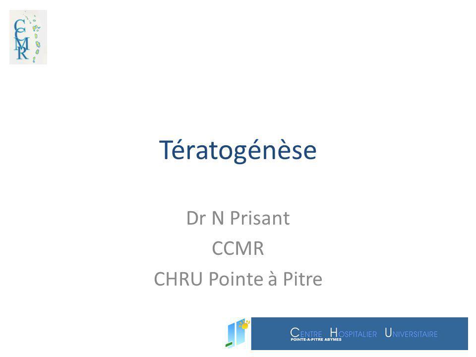 Dr N Prisant CCMR CHRU Pointe à Pitre
