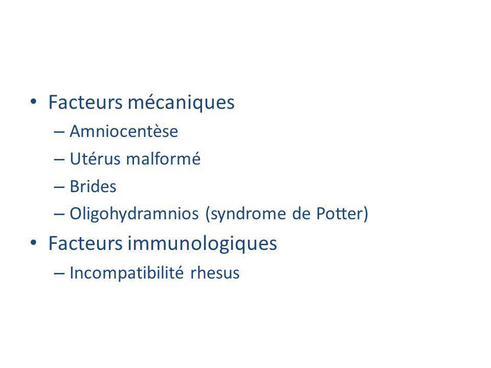 Facteurs immunologiques