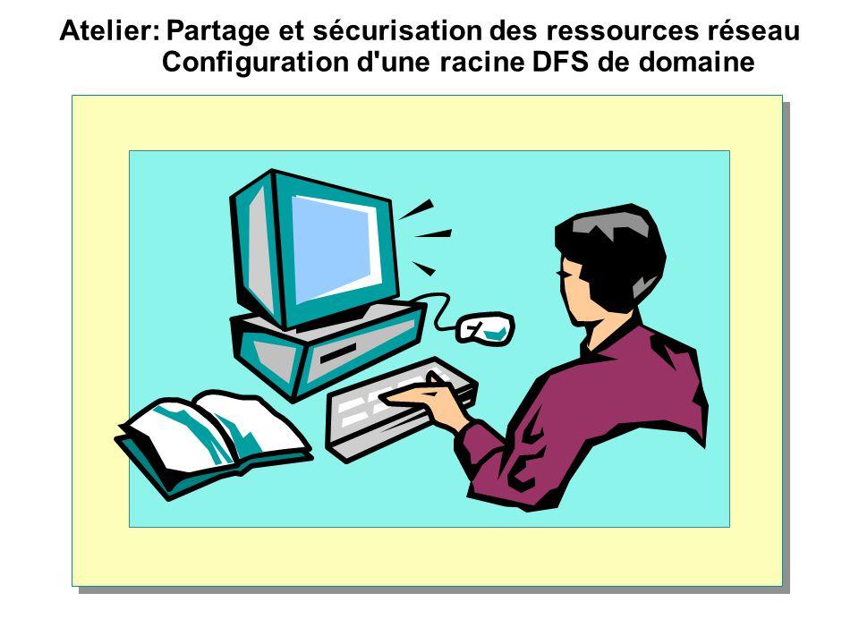 Atelier: Partage et sécurisation des ressources réseau