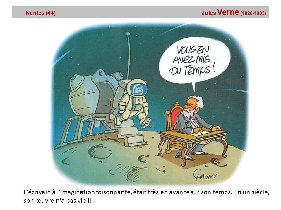 Nantes (44) Jules Verne (1828-1905)
