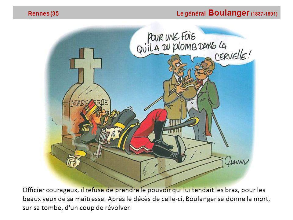 Rennes (35 Le général Boulanger (1837-1891)