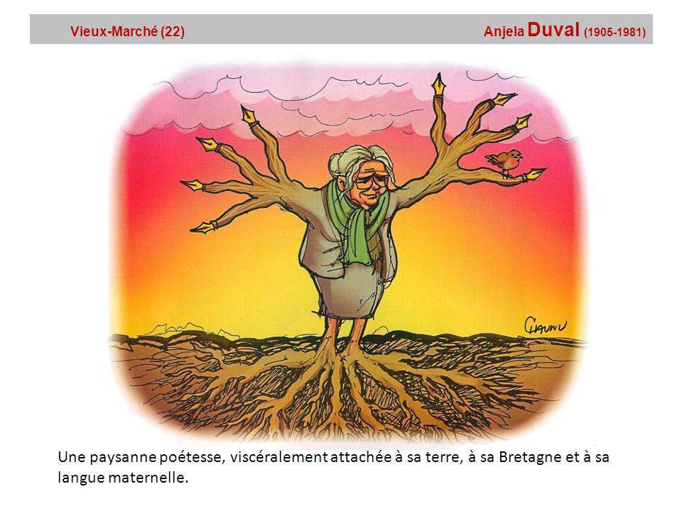 Vieux-Marché (22) Anjela Duval (1905-1981)