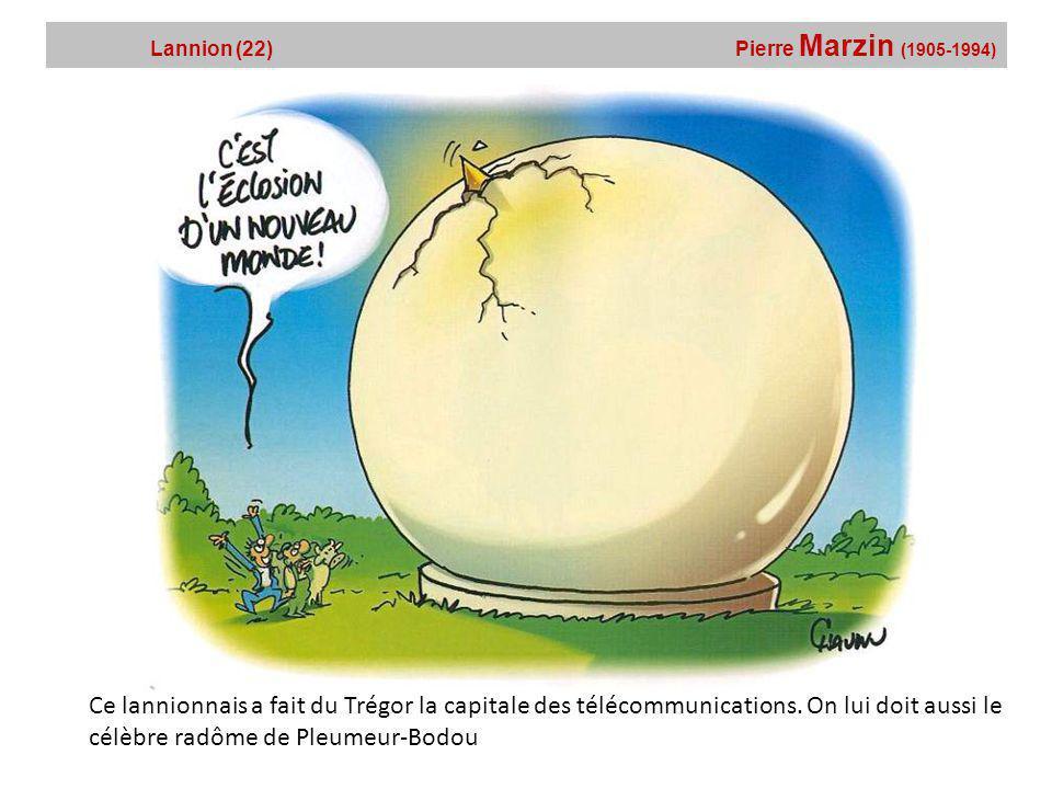 Lannion (22) Pierre Marzin (1905-1994)