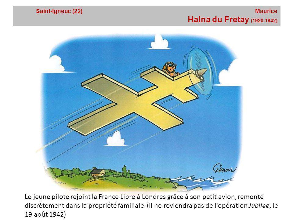 Saint-Igneuc (22) Maurice Halna du Fretay (1920-1942)