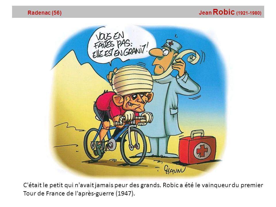 Radenac (56) Jean Robic (1921-1980)
