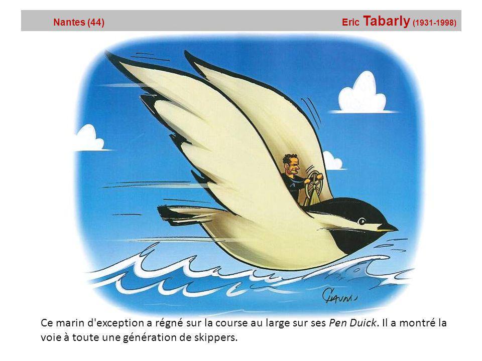 Nantes (44) Eric Tabarly (1931-1998)