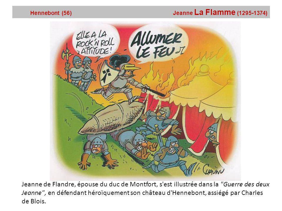 Hennebont (56) Jeanne La Flamme (1295-1374)