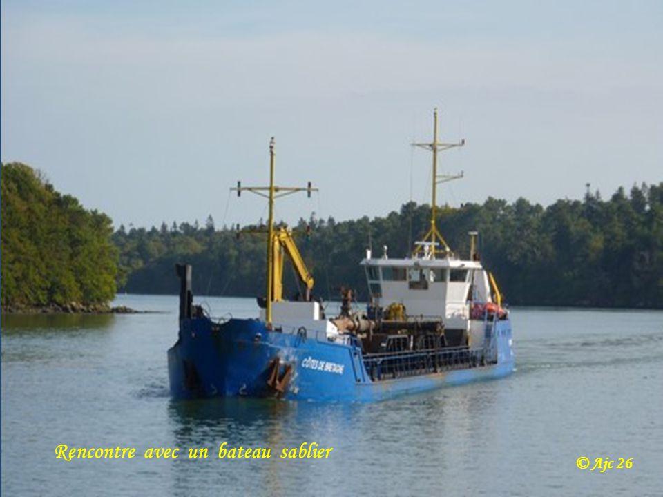 Rencontre avec un bateau sablier