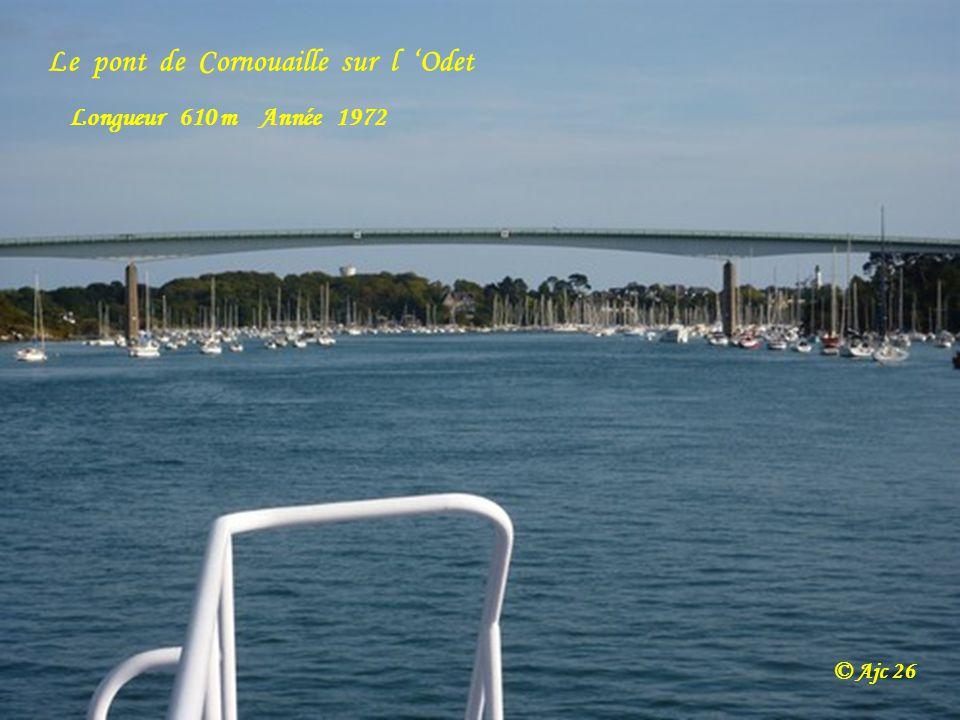 Le pont de Cornouaille sur l 'Odet