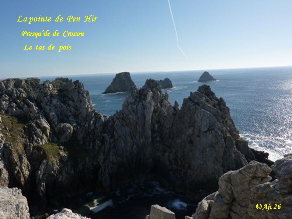 La pointe de Pen Hir Presqu'ile de Crozon Le tas de pois © Ajc 26