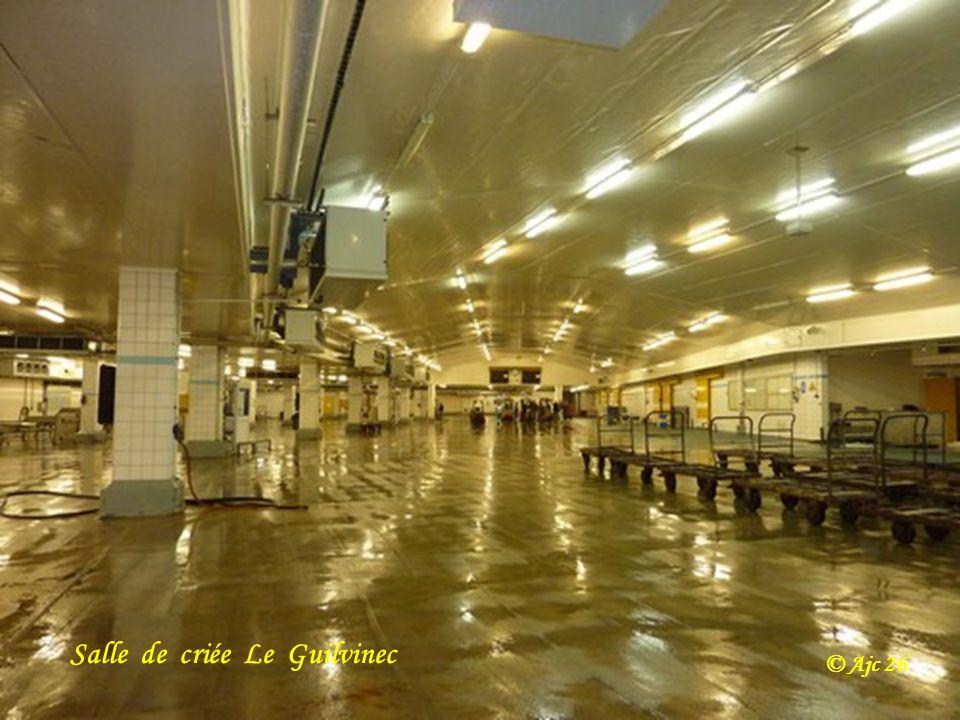 Salle de criée Le Guilvinec