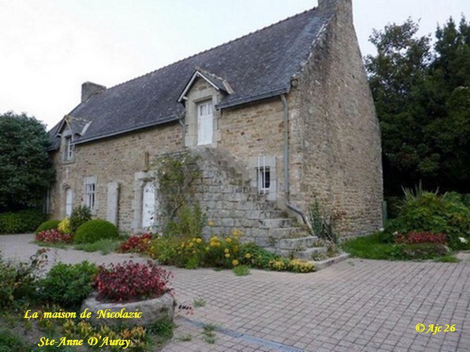 La maison de Nicolazic © Ajc 26 Ste-Anne D'Auray