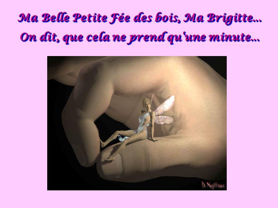 Ma Belle Petite Fée des bois, Ma Brigitte...