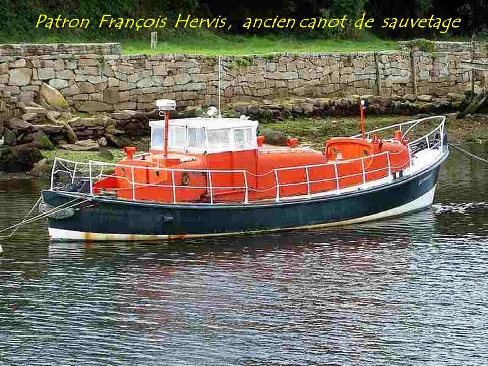 Patron François Hervis , ancien canot de sauvetage