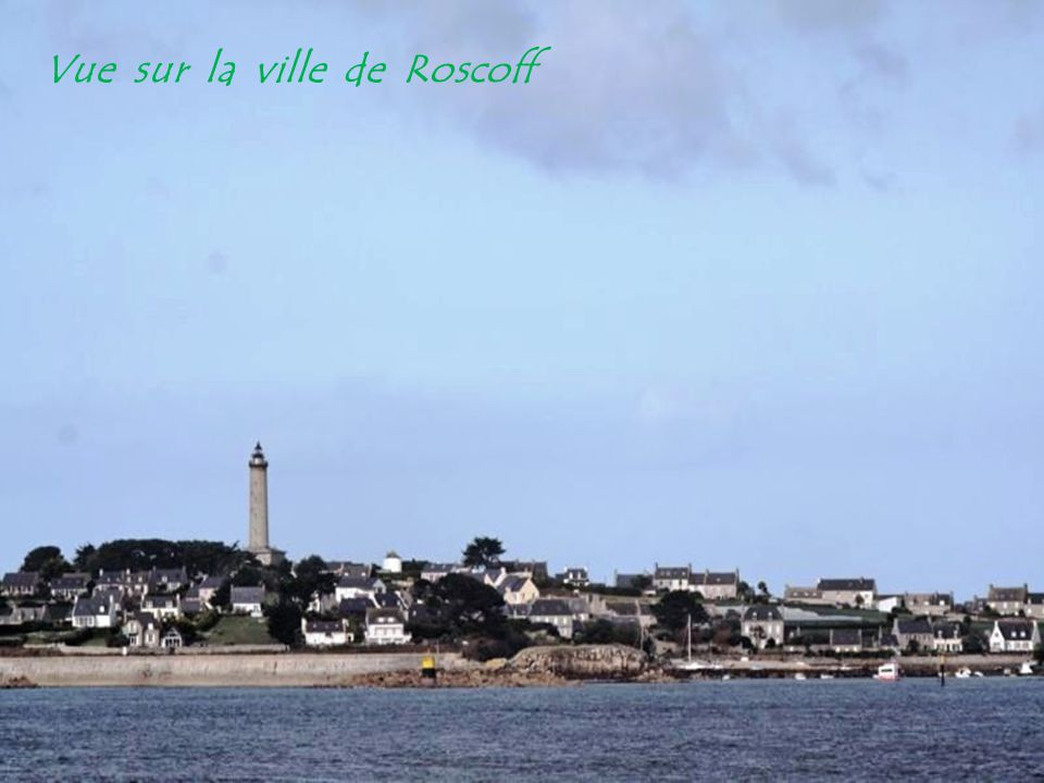 Vue sur la ville de Roscoff