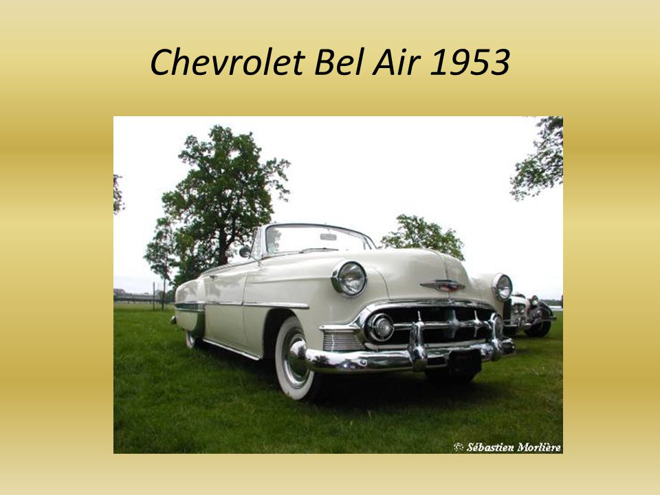 Chevrolet Bel Air 1953