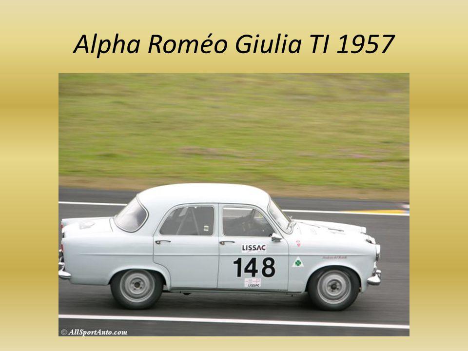 Alpha Roméo Giulia TI 1957