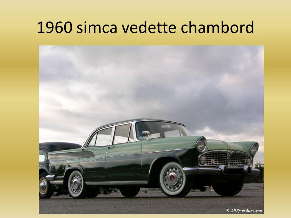 1960 simca vedette chambord