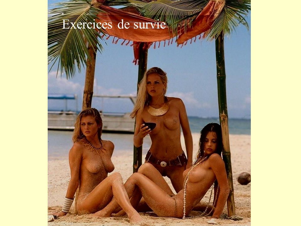 Exercices de survie