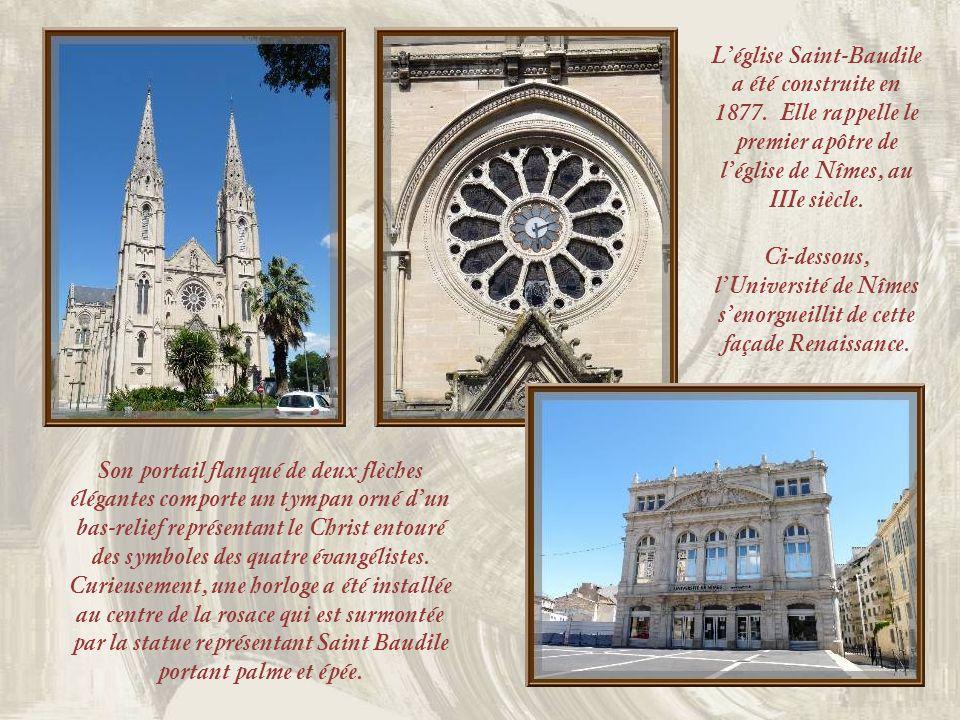 L'église Saint-Baudile a été construite en 1877