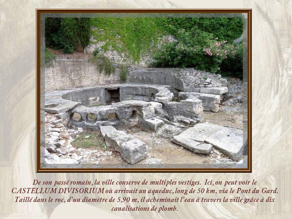 De son passé romain, la ville conserve de multiples vestiges