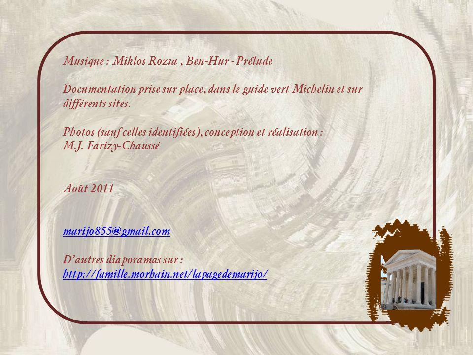 Musique : Miklos Rozsa , Ben-Hur - Prélude