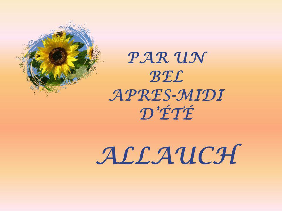 PAR UN BEL APRES-MIDI D'ÉTÉ ALLAUCH
