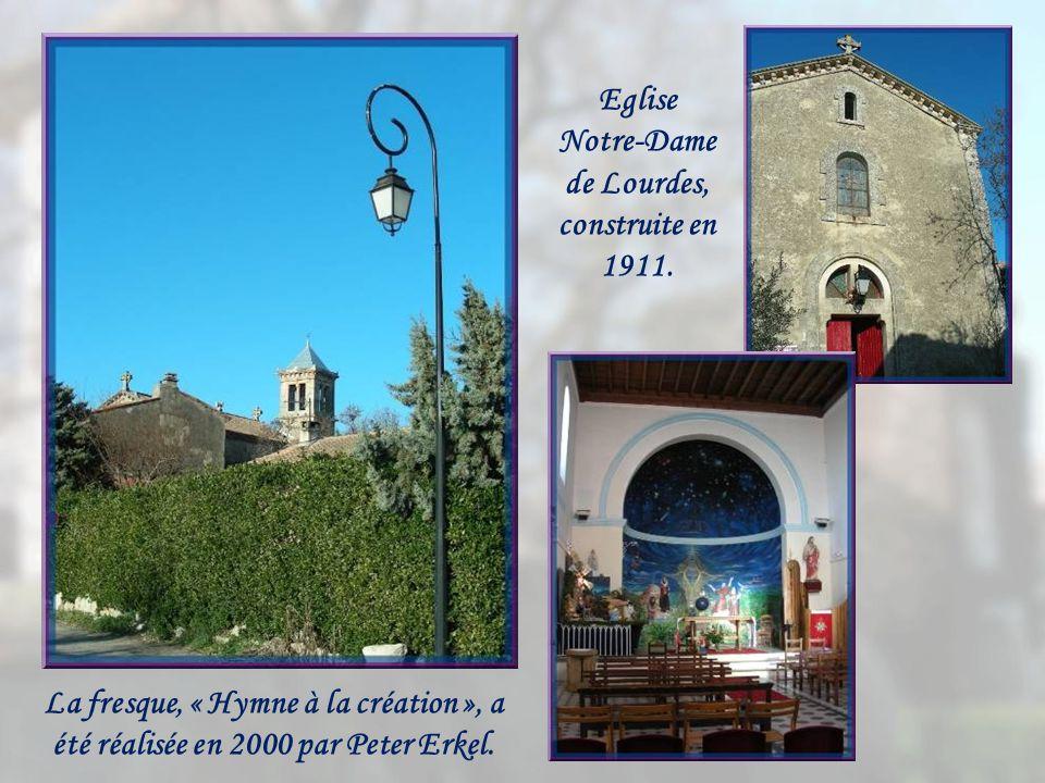 Eglise Notre-Dame de Lourdes, construite en 1911.