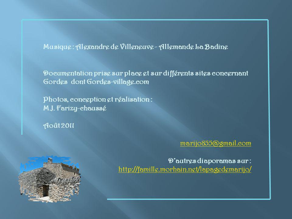 Musique : Alexandre de Villeneuve - Allemande La Badine
