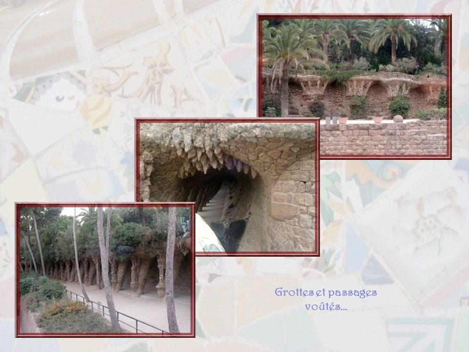 Grottes et passages voûtés…