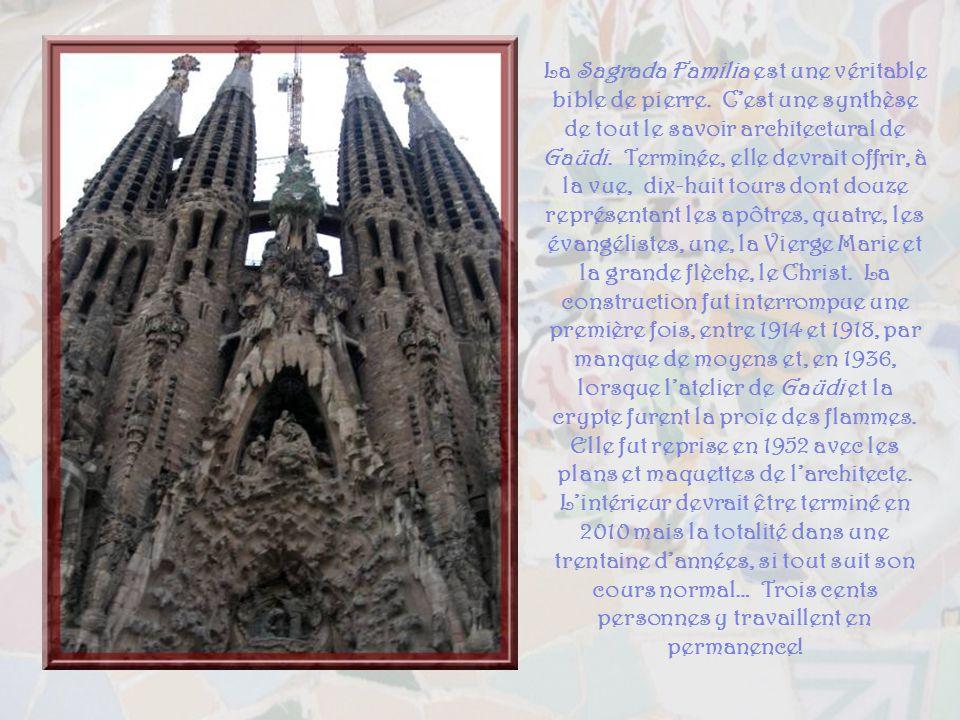 La Sagrada Familia est une véritable bible de pierre