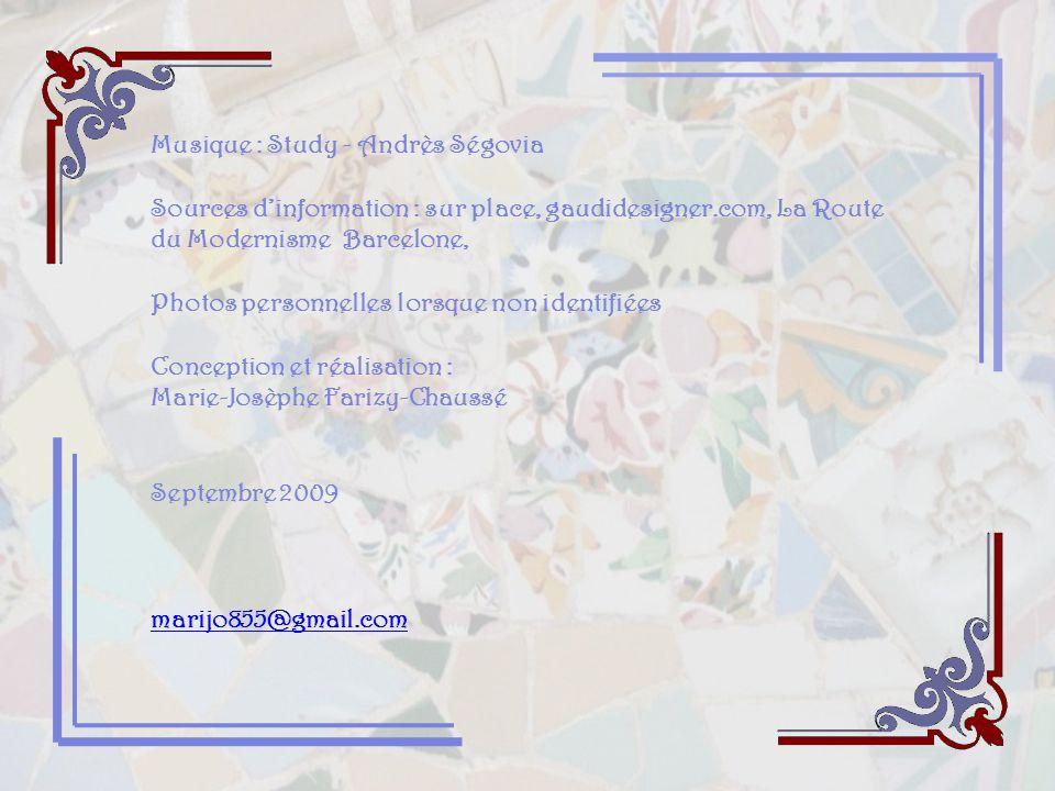 Musique : Study - Andrès Ségovia