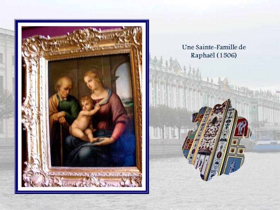 Une Sainte-Famille de Raphaël (1506)