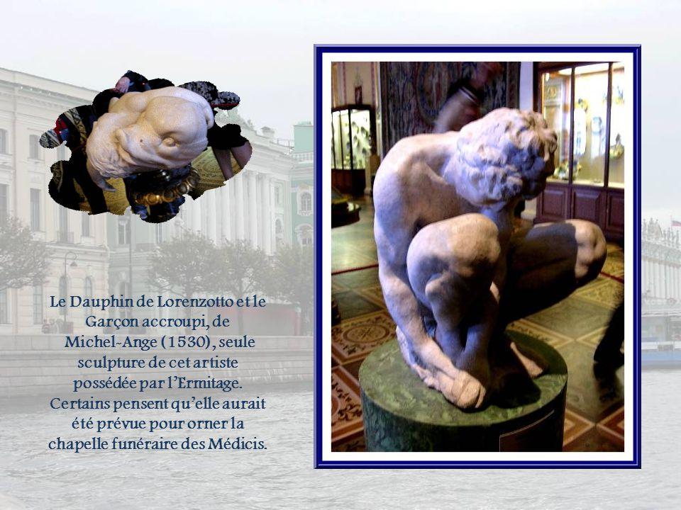 Le Dauphin de Lorenzotto et le Garçon accroupi, de
