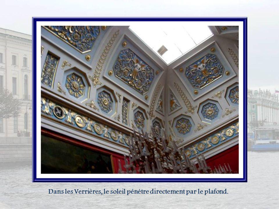 Dans les Verrières, le soleil pénètre directement par le plafond.