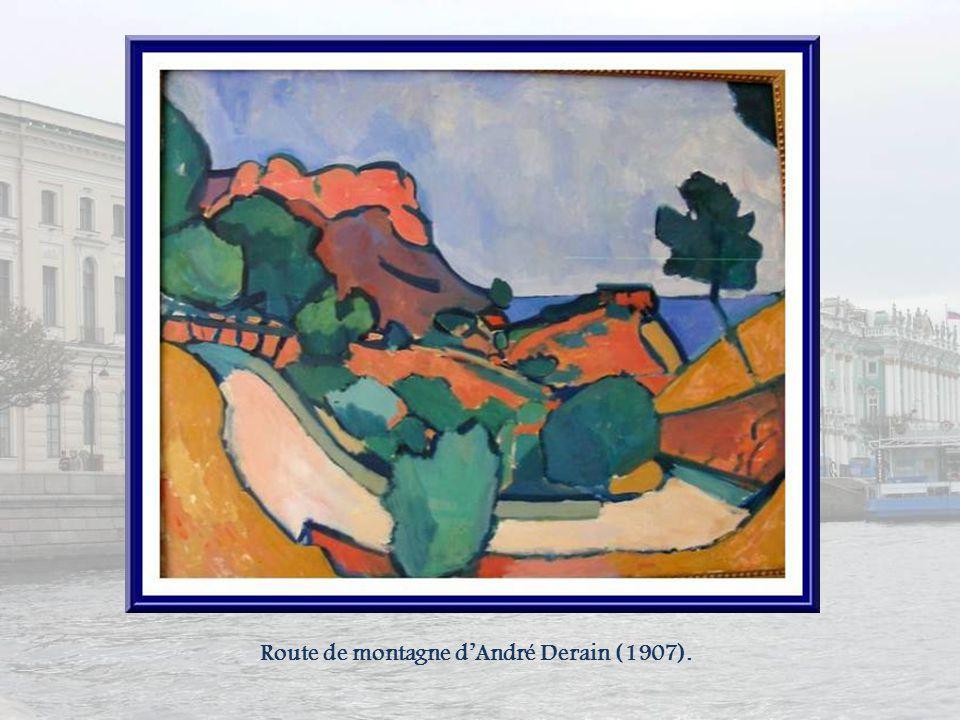 Route de montagne d'André Derain (1907).