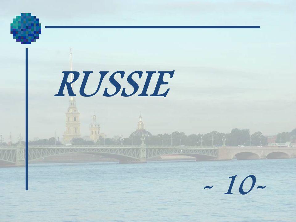 RUSSIE - 10-
