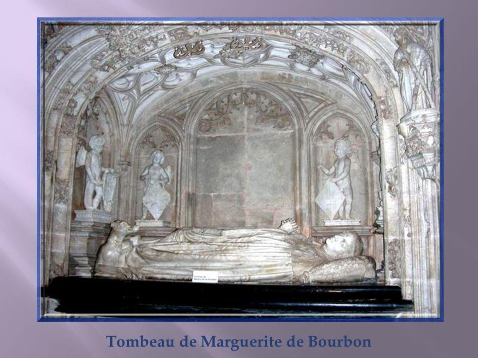 Tombeau de Marguerite de Bourbon