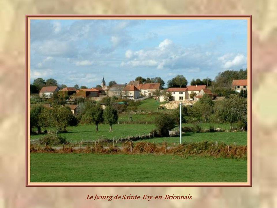 Le bourg de Sainte-Foy-en-Brionnais