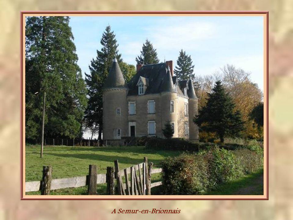 A Semur-en-Brionnais