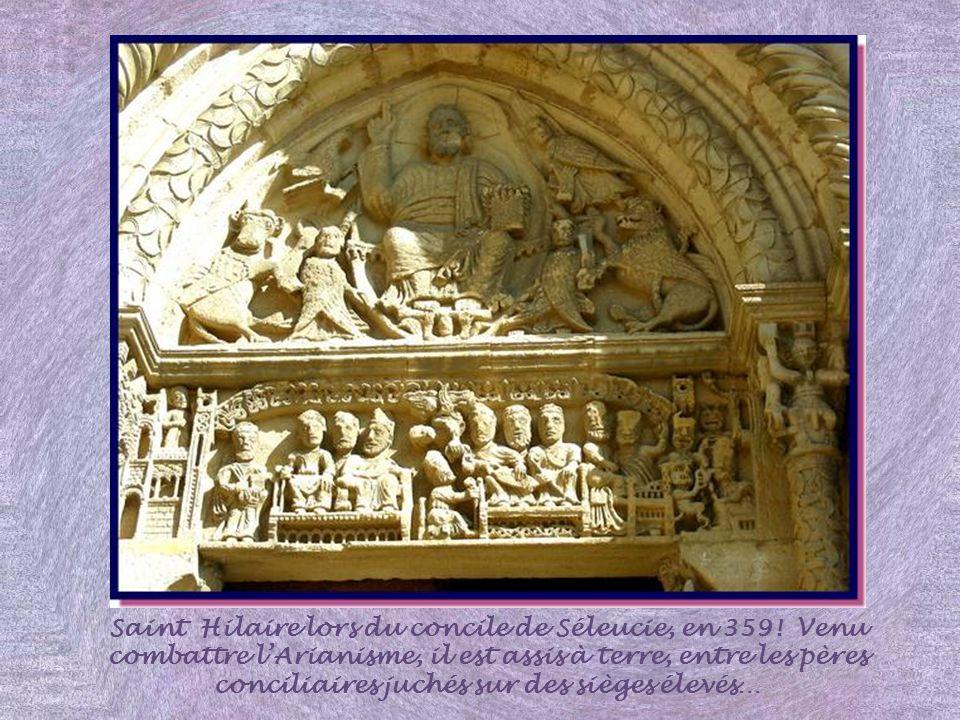 Saint Hilaire lors du concile de Séleucie, en 359
