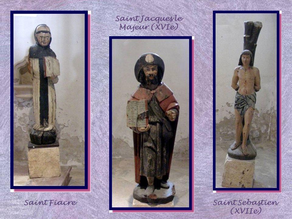 Saint Jacques le Majeur (XVIe) Saint Sebastien (XVIIe)