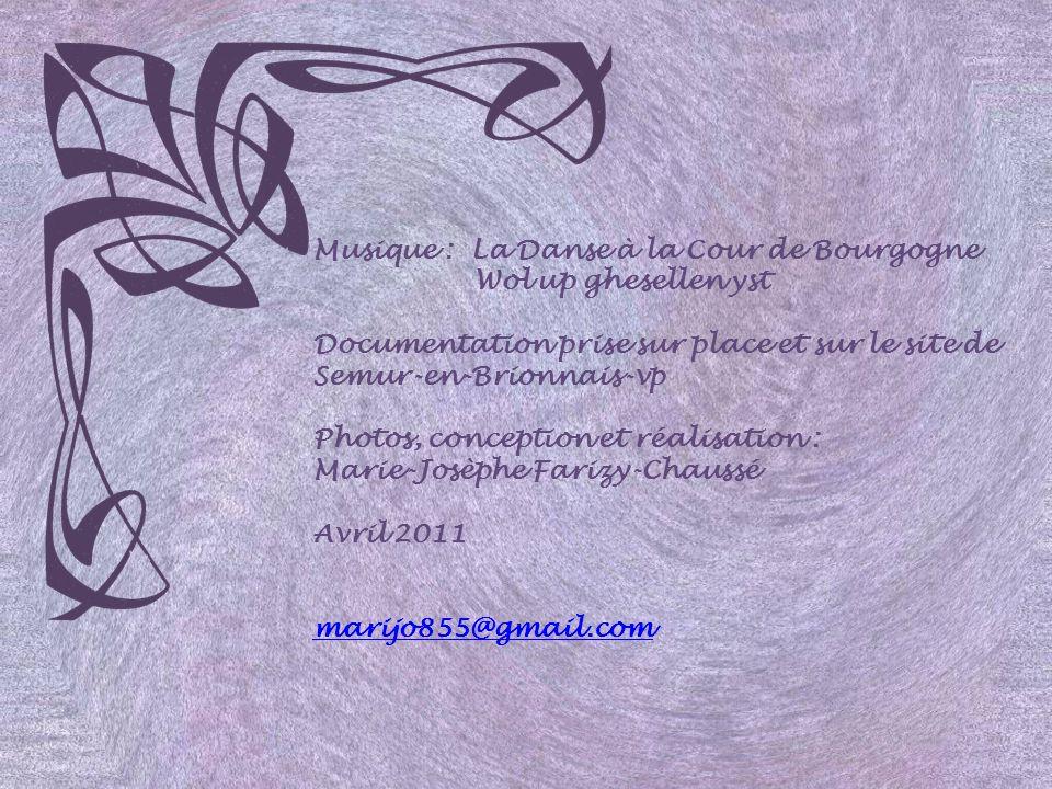 Musique : La Danse à la Cour de Bourgogne