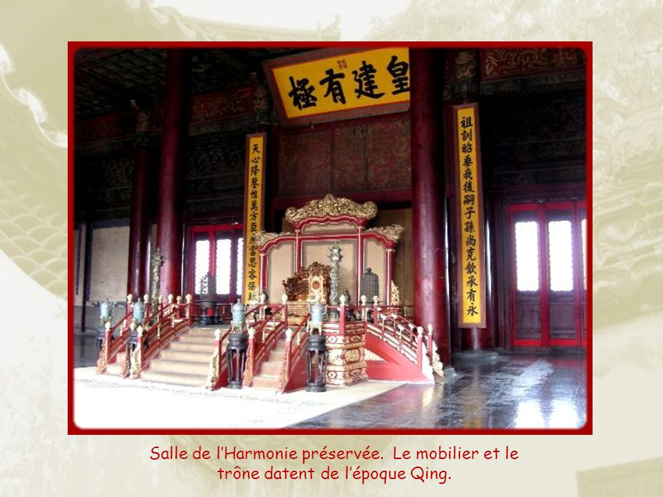 Salle de l'Harmonie préservée