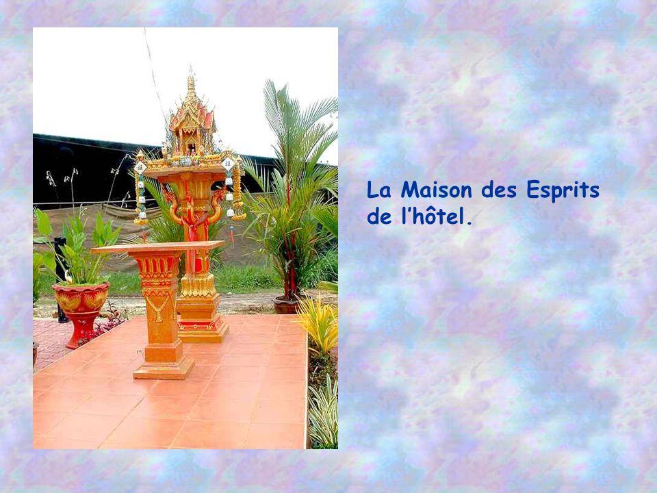 La Maison des Esprits de l'hôtel.