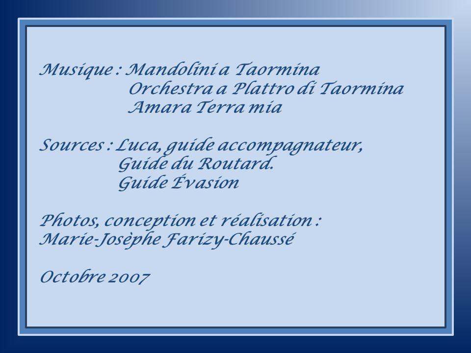 Musique : Mandolini a Taormina