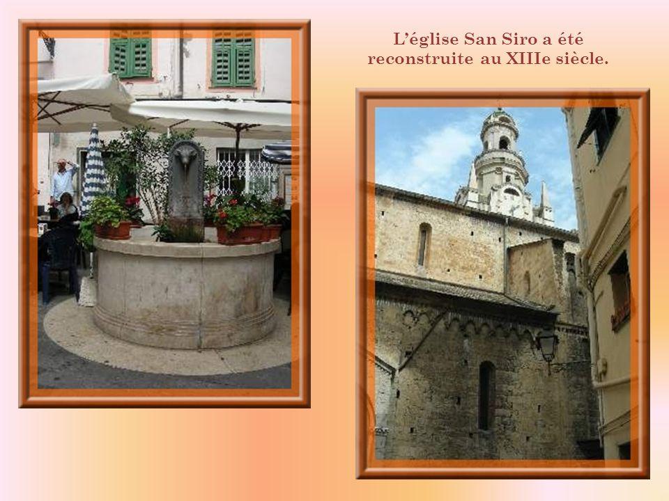 L'église San Siro a été reconstruite au XIIIe siècle.