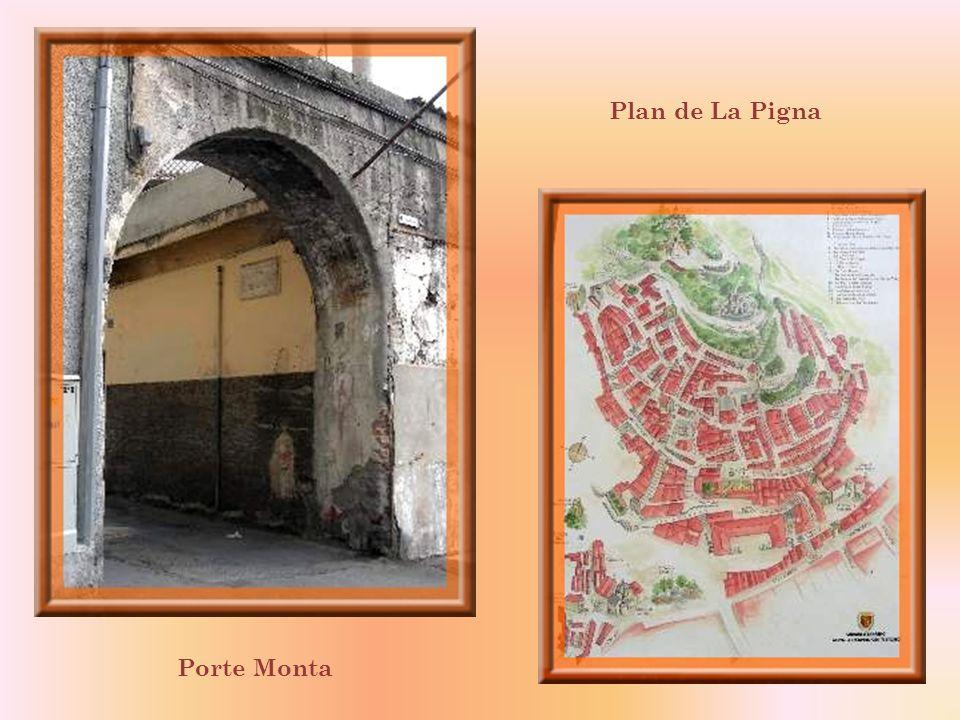 Plan de La Pigna Porte Monta